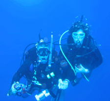 Aqua Marine Scuba owners